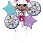 Girl Balloon Bouquets